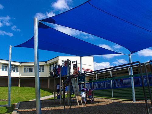 Playground Shade Sails